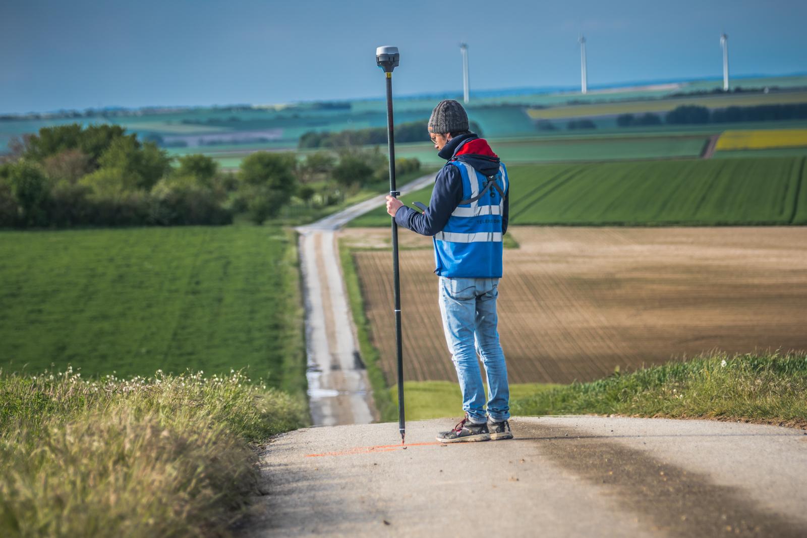 Relevé GPS RTK
