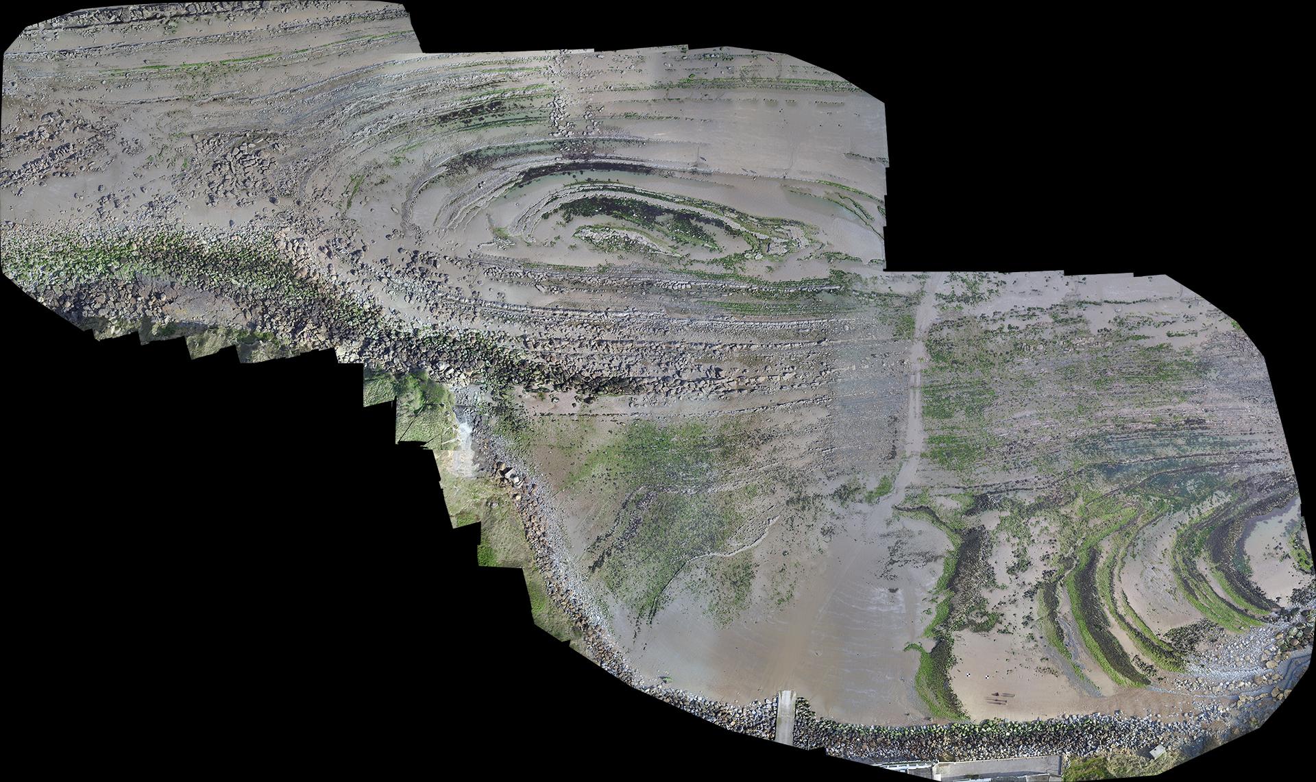 Cartographie Estran Cap Gris Nez