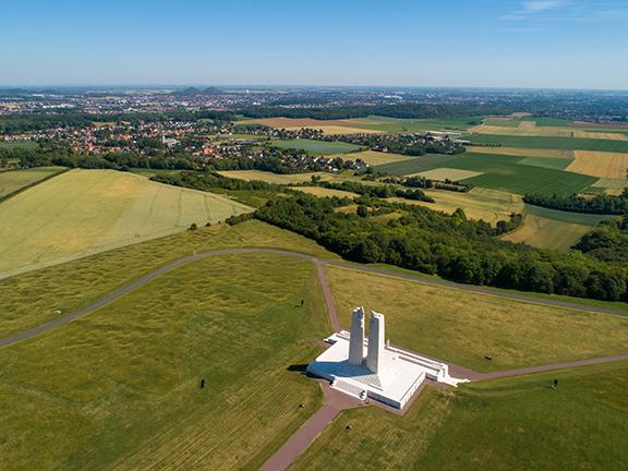 Inspection et Modélisation 3D du Mémorial national du Canada à Vimy